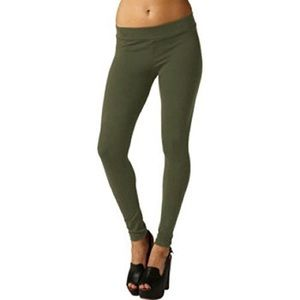 Matty M Army Green Leggings